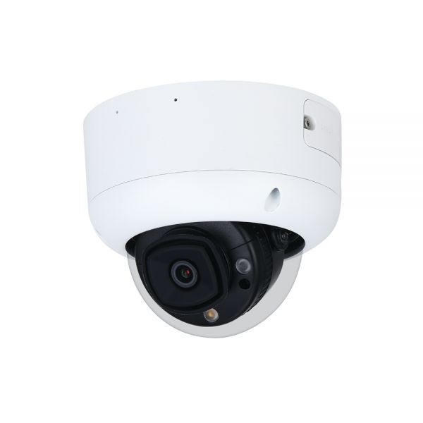 **New in stock** 5MP IP DOME, 2 WAY TALK, SIREN, WHITE LIGHT/IR, 2.8MM LENS