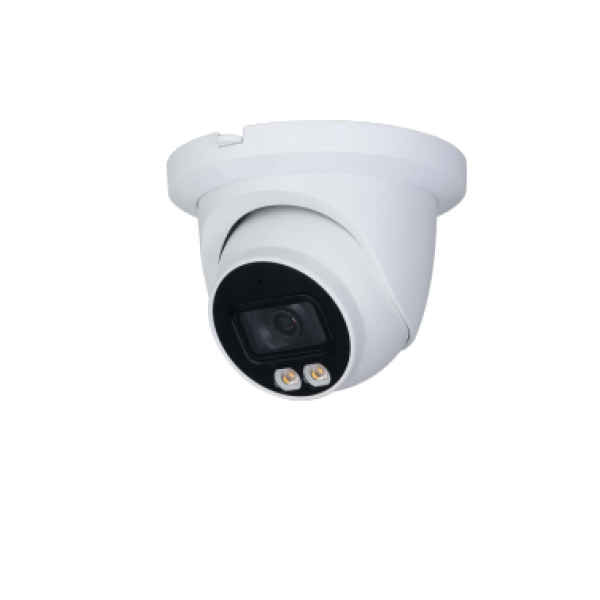 **New in stock** 4MP (FULL-COLOR) Starlight IP Dome, 2.8mm, H.265, True WDR, IP67, IVS, Audio in/out