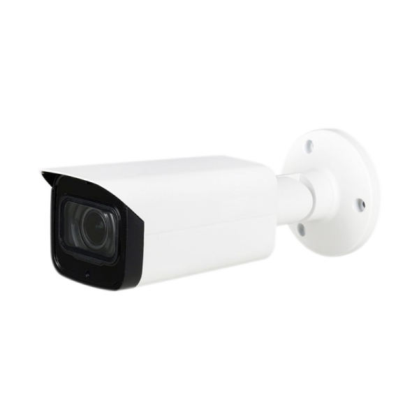 4K Starlight HDCVI IR Bullet, 3.7-11mm Motorized Lens, Smart IR Length (260ft), True WDR, IP67, Built-in Mic