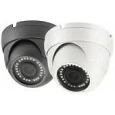 HD 4-in-1(CVI, TVI, AHD, Analog) Turret Dome 5MP / 4MP 2.8-12mm Vari-focal Lens 36 IR LEDs Weatherproof