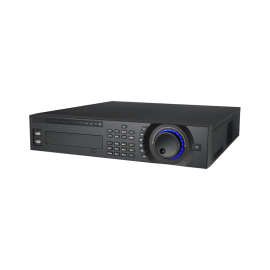 32 CH Enterprise 4K Network Video Recorder. 384 Mbps, Supports Up to 12Mp resolution, 8 HDD Bays (Single, RAID, Hot-swap)