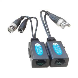 Passive HD Video Balun with Power (CVI / TVI / AHD / Analog)