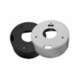 """BVCD506W Junction Box for Turret Domes 4.75"""" - White"""