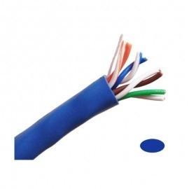 CB5E1KBL 1000FT 24AWG CAT5e 350MHz UTP Ethernet Network Cable-Blue