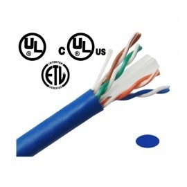 CBC61KBLUU CAT6 Ethernet Network cables 1000' Pull Box - Blue