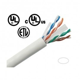 CBC61KWU CAT6 Ethernet Network cables 1000' Pull Box - White
