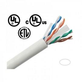 CB5E1KWU CAT5e Network cables 1000' Pull Box - White