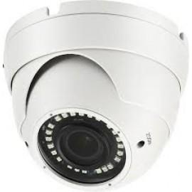 HD 4-in-1 (CVI, TVI, AHD, Analog) Turret  Dome 1080P 2.8-12mm Motorized Lens 36 IR Weatherproof