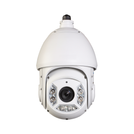 HD CVI PTZ Dome 1080P 20x Optical Zoom, Smart IR up to 330Ft. IP66 Weatherproof