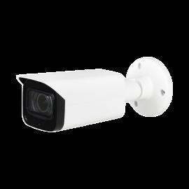 5MP Full HD Network IR Bullet Camera. 2.7-12mm Motorized Lens, IR(196ft), True WDR, IP67, PoE