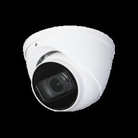 4K Starlight HDCVI IR Dome, 2.7-12mm Motorized Lens, Smart IR Length (200ft), True WDR, IP67, 1K10, Built-in Mic