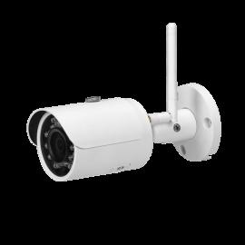 3MP WIFI IR Mini Bullet Camera. 3.6mm Fixed Lens, IR(100ft), IP67
