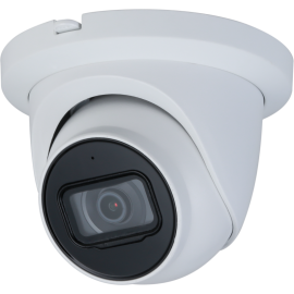 4 MP H.264 & H.265 Full HD Network IR Vandal Proof Dome Camera. 2.8mm Fixed Lens, IR(100ft), IP67, PoE, Built-in Microphone