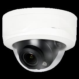 8MP 4K HD Network IR Dome Camera. 2.7-12mm Motorized Lens, IR(160 ft), IP67, Vandal Proof 1k10, PoE