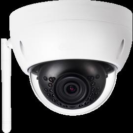 3MP WIFI IR Mini Dome Camera. 2.8mm Fixed Lens, IR(100ft), IP67, 1k10