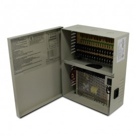 9 CH 20 Amp DC12V Power Supply Box. PTC UL Listed